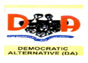 Democratic Alternative (DA) logo