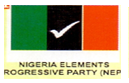 Nigeria Elements Progressive Party (NEPP) logo