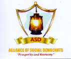 Alliance of Social Democrats (ASD) logo