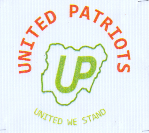 United Patriots (UP) logo