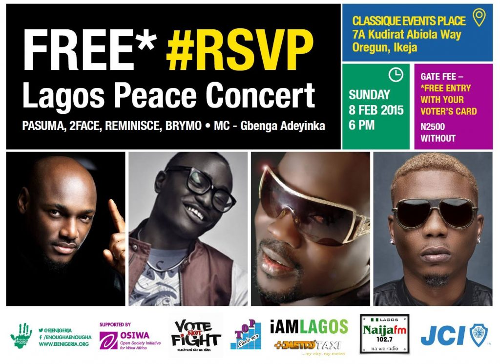 Lagos Peace concert
